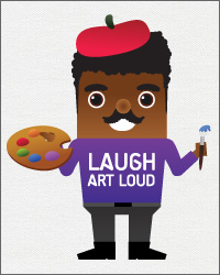 Laugh Art Loud