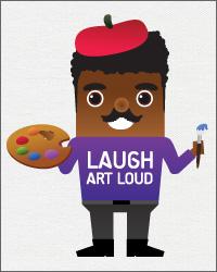 Laugh Art Loud